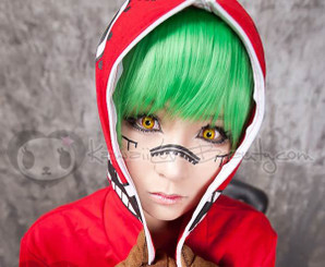 Crazy Flame cosplay contact lenses