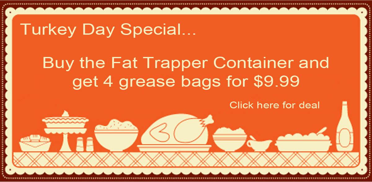 fat trapper grease holder
