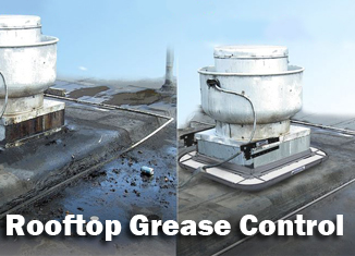 Rooftop grease control