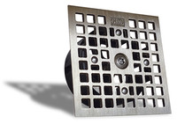 Floor Drain-Lock Square - Zurn Style