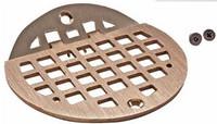 "Hinged Floor Drain Grate - 6"" Round"