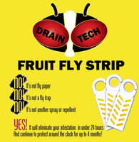 Drain-Tech Fruit Fly Strip (10-Pack)