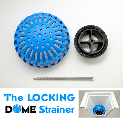 Locking Dome Strainer Kit - 4