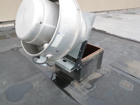 SuperHinge Exhaust Fan