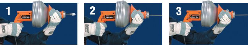 clean drains power tool