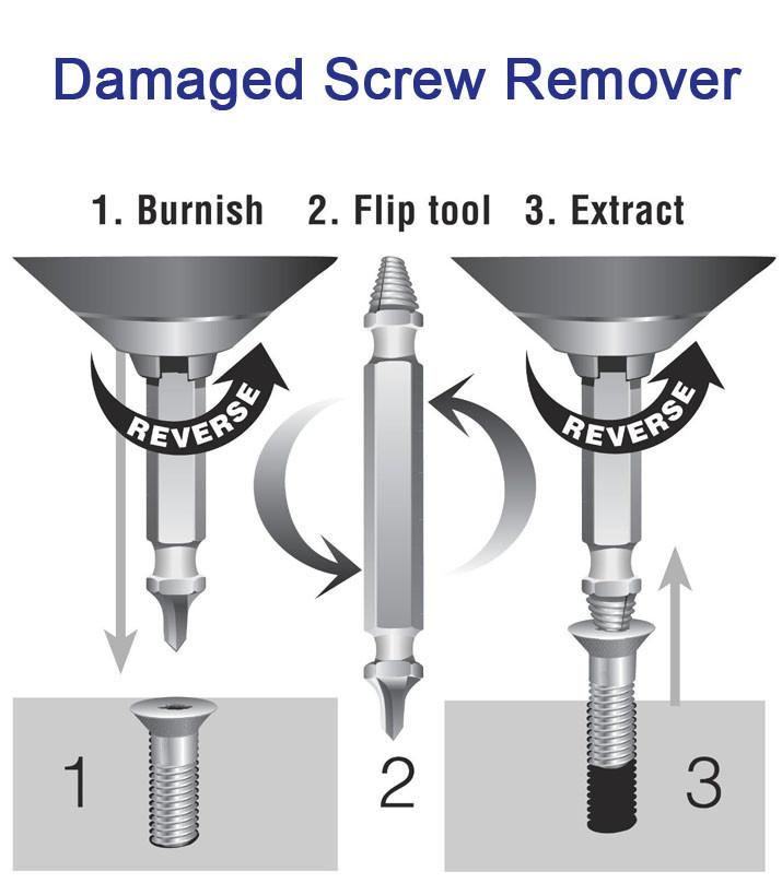 broken screw removal