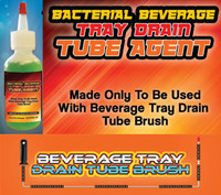 Bacterial Beverage Tray Drain Tube Agent