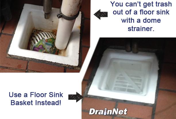 Floor Sink Basket 6 5 Quot Drain Net Technologies