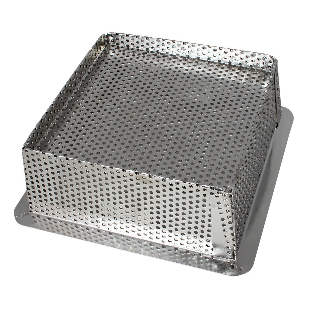 """Commercial Kitchen Floor Drains: 8.5"""" Stainless Steel Perforated Drain Bucket"""