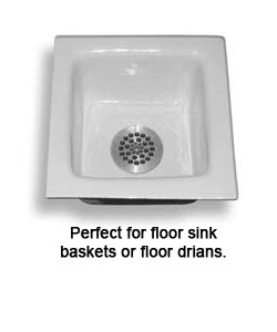 floor sink drain lock
