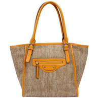 Bordeaux Shopper Yellow