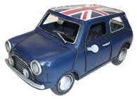 Mini British Blue with Union Jack 21cm