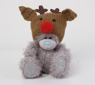 "5"" Wearing Reindeer Hat Me to You Bear"