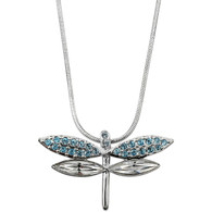 Crystalp Dragonfly with Swarovski Elements
