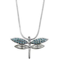 Crystalp Dragonfly with Swarovski Elements