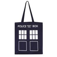 Dr Who Tardis Bag for Life - Canvas