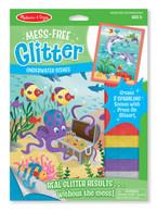 Mess-Free Glitter - Underwater Scenes Stickers
