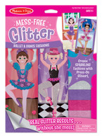 Mess-Free Glitter - Ballet & Dance Fashion Stickers