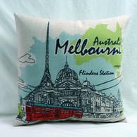 Australia Melbourne Flinders Street Station