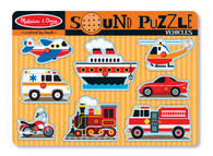 Melissa & Doug Vehicles Sound Puzzle