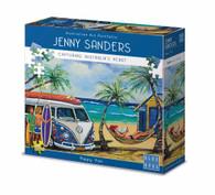 Blue Opal Jenny Sanders Hippy Van 1000 piece Deluxe Jigsaw Puzzle