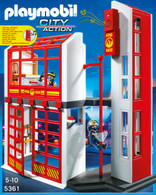 Playmobil – Fire Station With Alarm 5361 Fire and Police