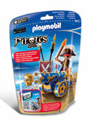 Playmobil – Blue Interactive Cannon With Pirate 6164 Pirate