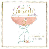 You're Engaged! Card - Morello Hotchpotch London