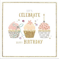 Lets Celebrate Happy Birthday Card - Morello Hotchpotch London