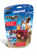 Playmobil – Red Interactive Cannon With Buccaneer 6163 Pirates