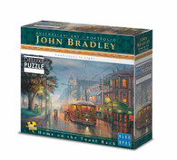 Blue Opal - Bradley Home on The Toast Rack 1000 piece Deluxe Jigsaw Puzzle
