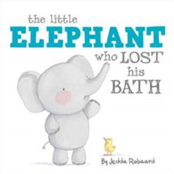 Litlle Elephant who lost his bath by Jedda Robbard
