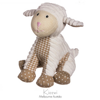 "Decorative Lil' Sheep corduroy & Cotton 10"" Stuffed Animal"