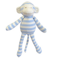 MARTYN STRIPE JERSEY MONKEY PALE Blue 32CM