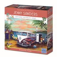 Jenny Sanders Dreamtime Kombi 1000pc Deluxe Jigsaw Puzzle Box