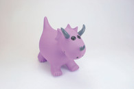 Happy Hopperz - Purple Triceratops - Small