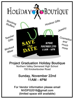 project graduation holiday boutique