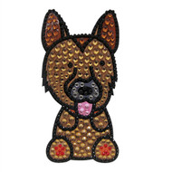 German Shepherd Phone Sticker