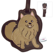 Pomeranian Luggage Tag