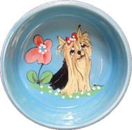 Yorkie Dog Bowl