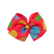 Circus Dog Hair Bow