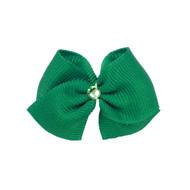 Emerald Dog Hair Bow
