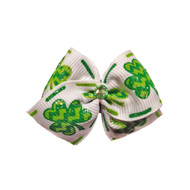 Shamrock Dog Hair Bow