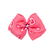 Sweetheart Dog Hair Bow