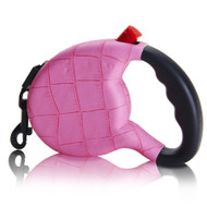 Retractable Leash   Pink Croc