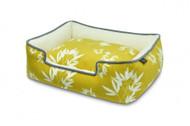 Lounge Bed | Bamboo Mustard & Pebble Gray