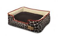 Lounge Bed | Kalahari Giraffe & Sangria