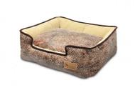 Lounge Bed | Savannah Sepia & Espresso