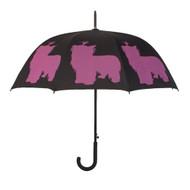 Yorkie Silhouette Umbrella