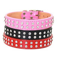 Madison & Maxwell 2 Row Crystal Dog Collars